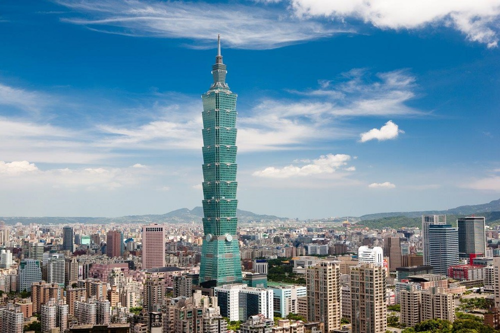 Taipei 101, The Tenth Tallest Building In The World