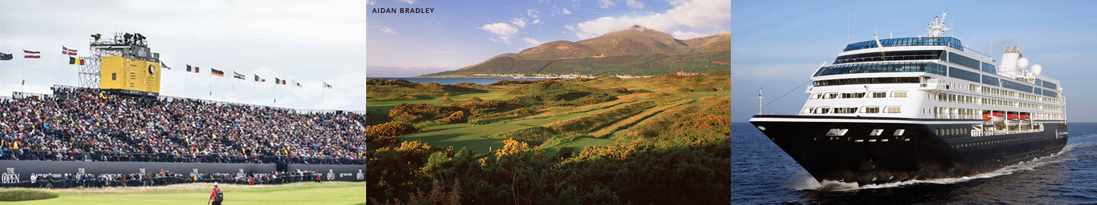 British Golf The Open Championship Packages and Golf Cruises
