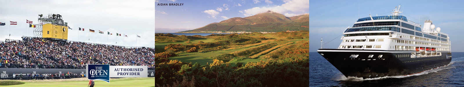 British Open  Golf Tours and Golf Cruises