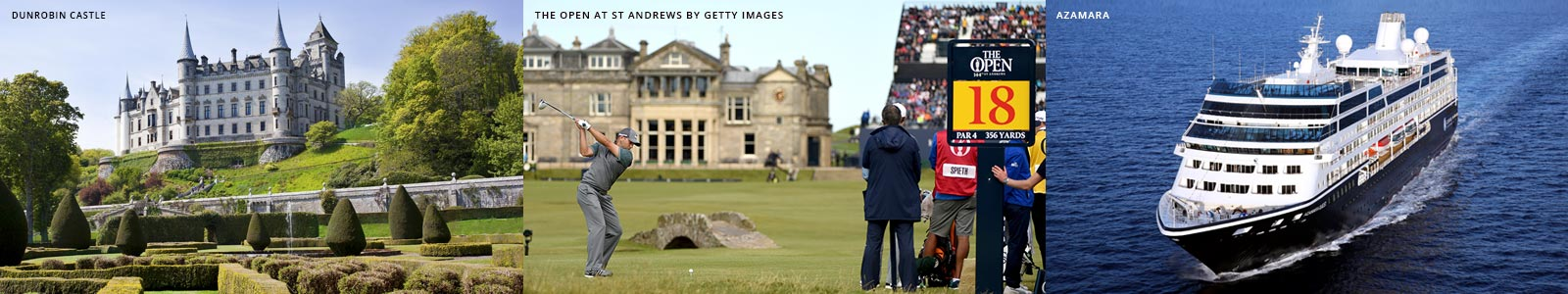 PerryGolf is an Authorised Ticket Provider of Attendance Packages to The 150th Open at St Andrews