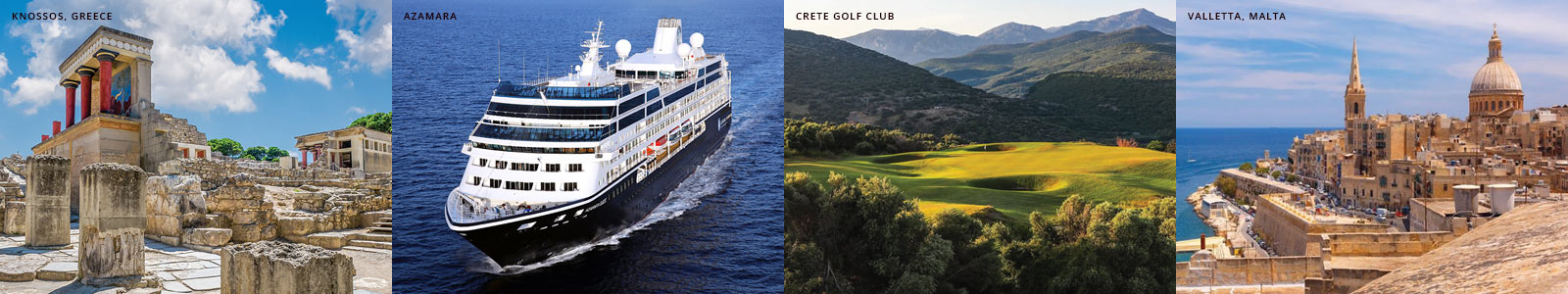 Mediterranean Islands Golf Vacation Tours and Golf Cruises
